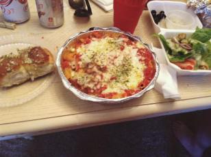 Bruno's Pizza- Chicken Parmesan