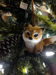 Seriously I bought so many Christmas items at Target this year, and I'm really into Foxes so I had to have this cute fox ornament from Target!